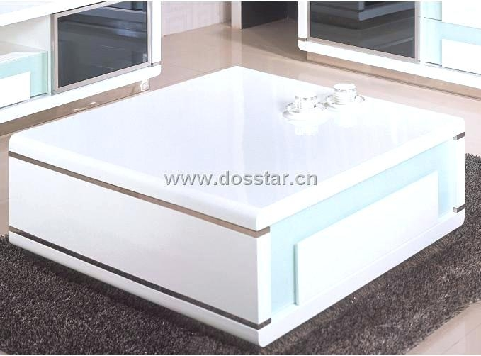 Wonderful New White Gloss Coffee Tables Inside High Gloss White Coffee Table Dealhackrco (Image 48 of 50)