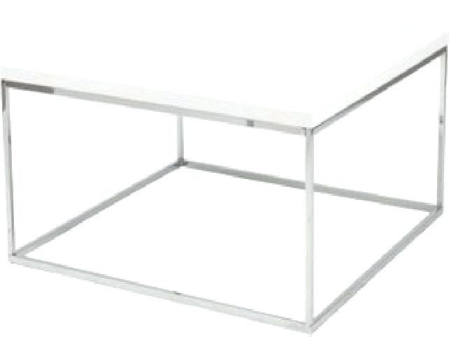 Wonderful New White Square Coffee Table Throughout Coffee Table Parsons Square Coffee Table With Glass Top Glossy (Image 46 of 50)
