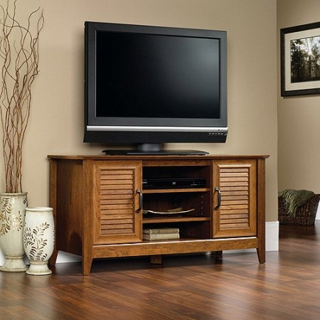 Wonderful New Wooden TV Stands For Flat Screens For Tv Stands Entertainment Centers Walmart (View 38 of 50)