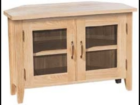 Wonderful Popular Corner TV Cabinets Intended For Corner Tv Cabinet With Doors Youtube (Image 47 of 50)