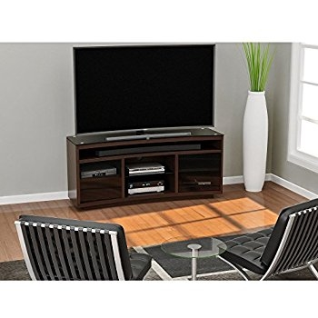 Wonderful Popular Curve TV Stands Inside Amazon Z Line Designs Radius Curved Tv Stand Brown Kitchen (View 21 of 50)