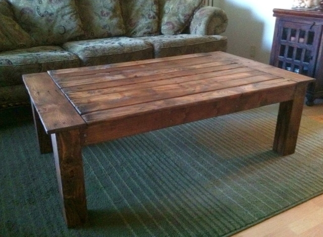 Featured Image of Extra Large Rustic Coffee Tables