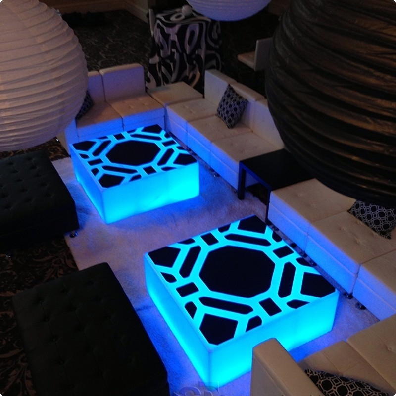 Wonderful Popular Led Coffee Tables With Regard To 36 X 36 Lumen Led Lighted Coffee Tables (Image 50 of 50)