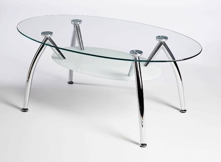 Wonderful Popular Oval Shaped Glass Coffee Tables Regarding Oval Glass Coffee Table (Image 49 of 50)