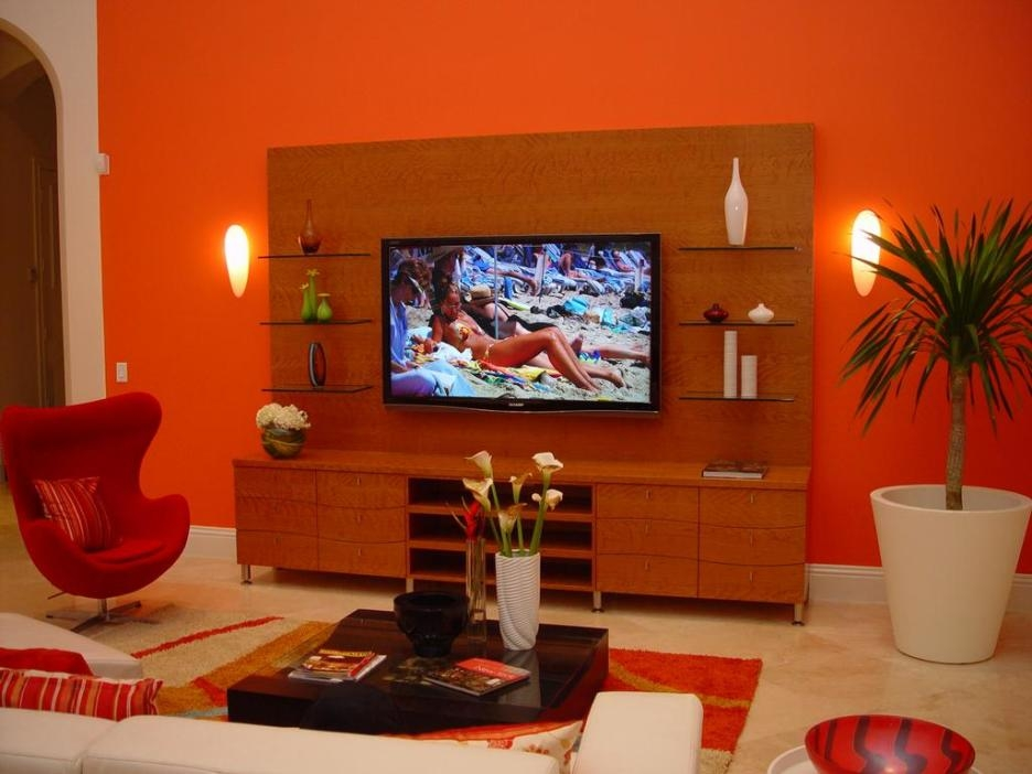 Wonderful Popular Red TV Cabinets With Regard To Apartment Astonishing Interior Design For Your Apartment Using (Image 49 of 50)