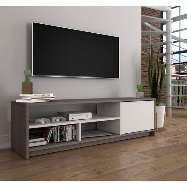 Wonderful Popular TV Stands For Small Spaces Throughout Bestar Small Space 535 Inch Tv Stand Free Shipping Today (Image 50 of 50)