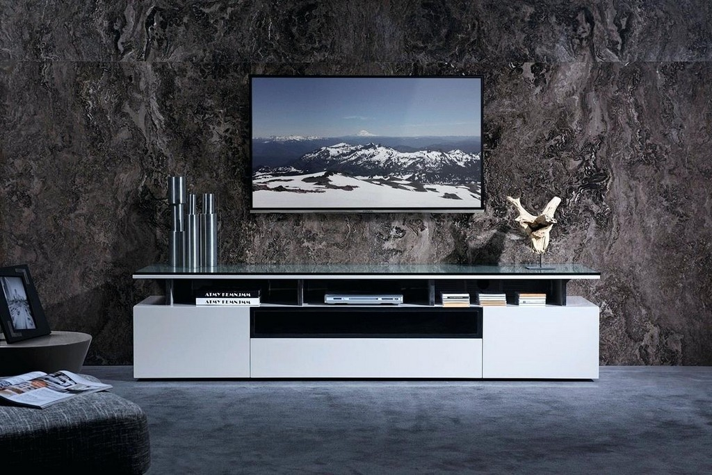 Wonderful Popular Walnut TV Stands For Flat Screens Intended For Walnut Tv Stands For Flat Screens (Image 46 of 50)