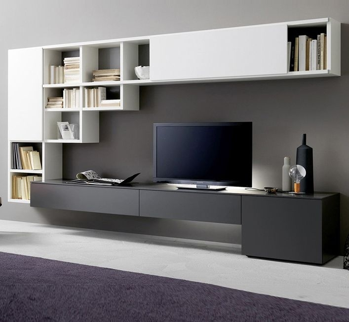 Wonderful Popular White Wood TV Cabinets Within Cabinet Cool Tv Cabinet Ideas Amazon Tv Cabinets Tall Tv Cabinet (Image 49 of 50)