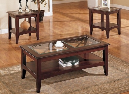 Wonderful Preferred Black Wood And Glass Coffee Tables In Wooden And Glass Coffee Table Jerichomafjarproject (Image 49 of 49)