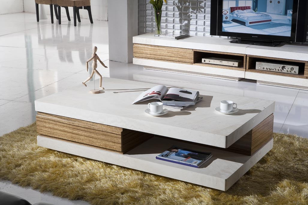 Wonderful Preferred Coffee Tables And TV Stands Matching Intended For Creative And Modern Coffee Tables Foynd (View 28 of 50)