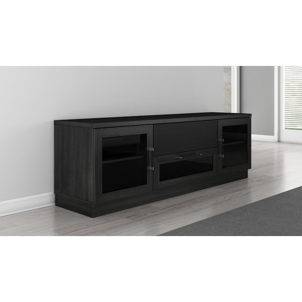 Wonderful Preferred Contemporary Black TV Stands For Furnitech Contemporary 70 Tv Stand Reviews Wayfair (View 32 of 50)
