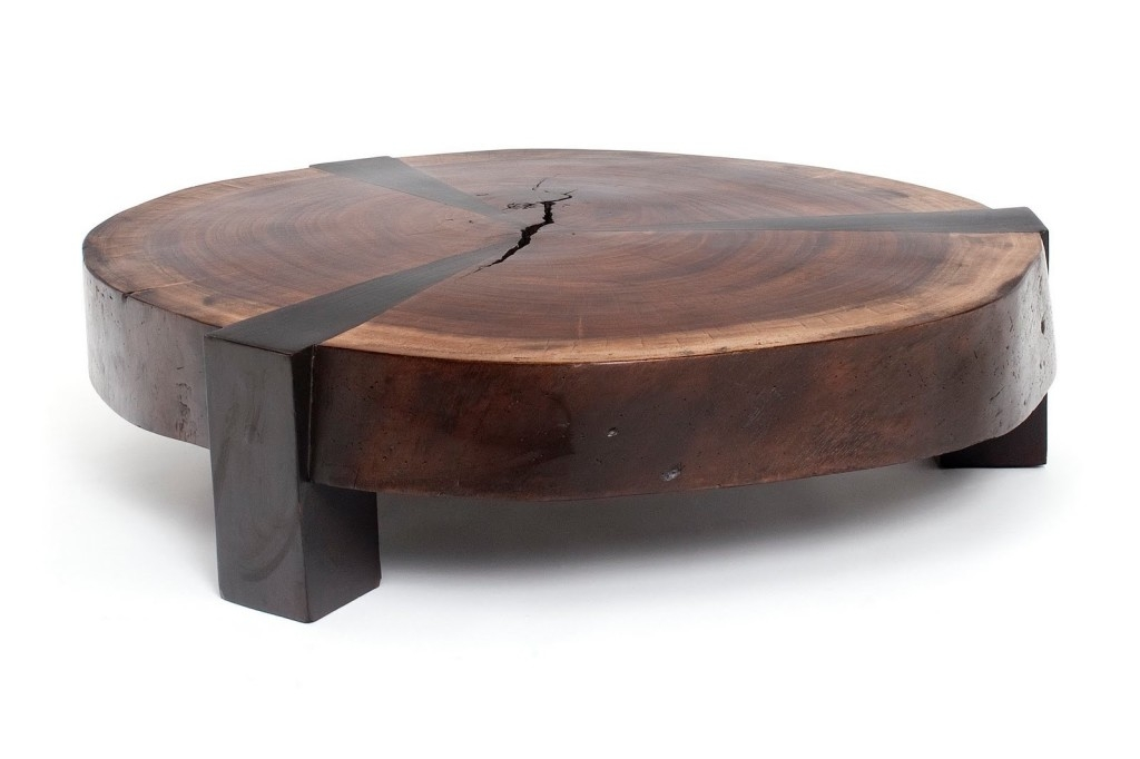 Wonderful Preferred Large Low Wooden Coffee Tables Throughout Incredible Round Low Coffee Table Black Round Coffee Table Round (Image 38 of 40)