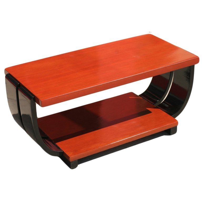 Wonderful Preferred Mahogany Coffee Tables Intended For Art Deco Mahogany Coffee Table Brown Saltman For Sale At 1stdibs (Image 47 of 50)