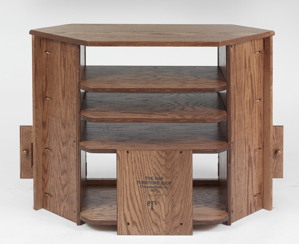 Wonderful Preferred Oak TV Stands Throughout Solid Oak Country Style Corner Tv Stand 41 The Oak Furniture Shop (Image 48 of 50)