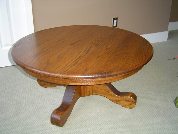 Wonderful Preferred Round Oak Coffee Tables Intended For Round Oak Coffee Table Campbell River Courtenay Comox Mobile (View 22 of 40)