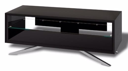 Wonderful Preferred Techlink Arena TV Stands For Techlink Arena Gloss Black Tv Stand In Whitley Bay Tyne And (Image 44 of 50)