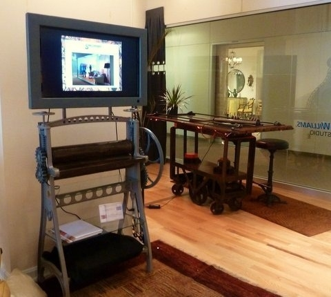 Wonderful Preferred Unique TV Stands In Best 10 Unique Tv Stands Ideas On Pinterest Studio Apartment (View 31 of 50)