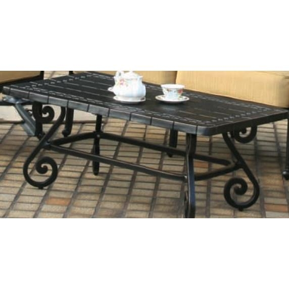 Wonderful Preferred Wrought Iron Coffee Tables For Wrought Iron Patio Coffee Table (Image 49 of 50)