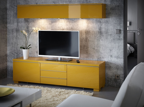 Wonderful Preferred Yellow TV Stands IKEA In 25 Stylish Ikea Tv And Media Furniture Home Design And Interior (Image 49 of 50)