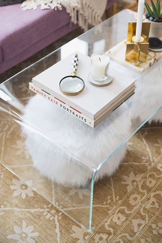 Wonderful Premium Acrylic Coffee Tables With Magazine Rack Pertaining To 25 Best Acrylic Coffee Tables Ideas On Pinterest Acrylic (View 40 of 40)