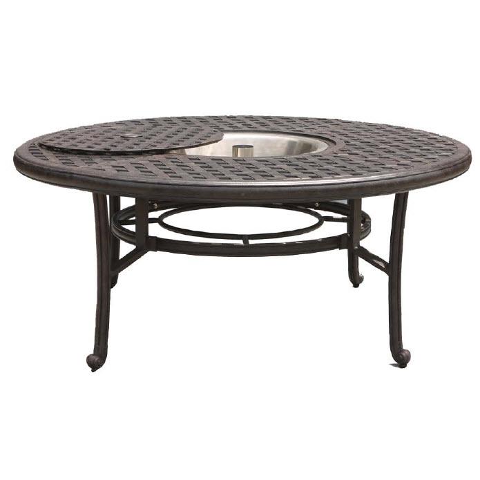 Wonderful Premium Aluminium Coffee Tables Throughout Cast Aluminium Coffee Table Nassau Collection Inspired Outdoor (Image 46 of 50)