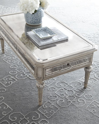 Wonderful Premium Antique Mirrored Coffee Tables For Circle Squared Coffee Table Contemporary Coffee Tables Coffee (Image 37 of 40)