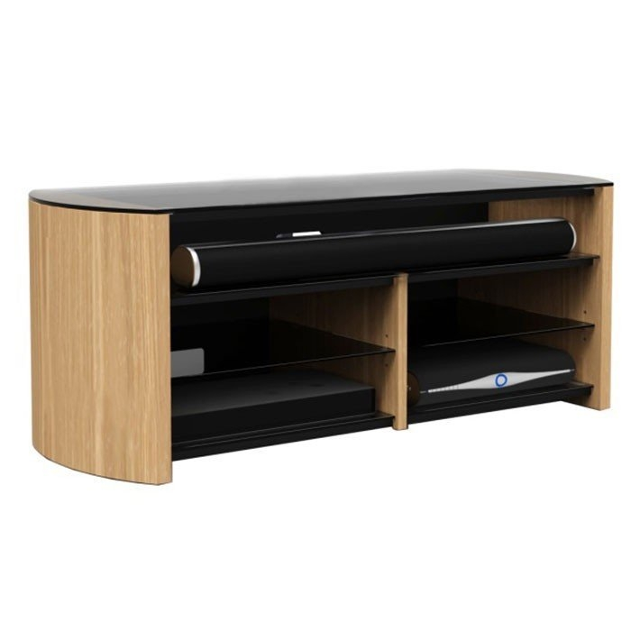 Wonderful Premium Glass And Oak TV Stands Intended For Light Oak And Glass Tv Stand Home Design Ideas (Image 49 of 50)