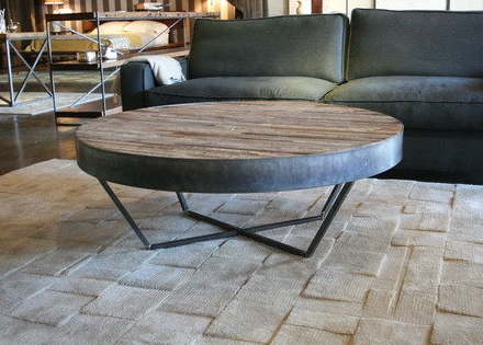 Wonderful Premium Gray Wood Coffee Tables For Coffee Table Impressing Round Rustic Coffee Table Small Round (Image 48 of 50)