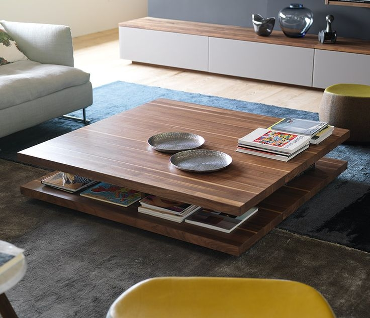 Wonderful Premium Hardwood Coffee Tables With Storage With Best 25 Coffee Table With Storage Ideas Only On Pinterest (View 22 of 50)