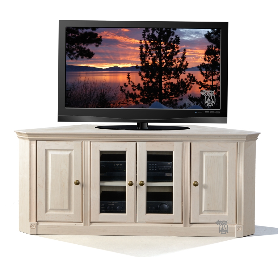 Wonderful Premium Maple Wood TV Stands Inside Hoot Judkins Furnituresan Franciscosan Josebay Areacorner Tv (View 5 of 50)