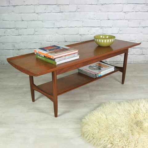 Wonderful Premium Retro Teak Glass Coffee Tables Regarding Best 25 Teak Coffee Table Ideas On Pinterest Midcentury (View 10 of 50)