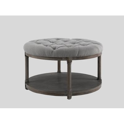 Wonderful Premium Round Upholstered Coffee Tables With Regard To Coffee Table Awesome Round Ottoman Coffee Table Upholstered Large (Image 40 of 40)