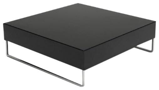 Wonderful Premium Square Black Coffee Tables With Park Square Coffee Table Modern Coffee Tables Modern (View 11 of 40)