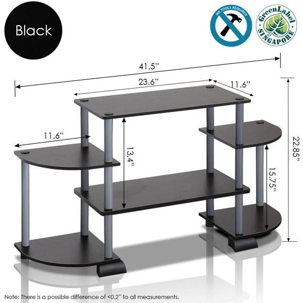 Wonderful Premium TV Stands With Rounded Corners Inside Tv Stand With Rounded Corners (Image 48 of 50)