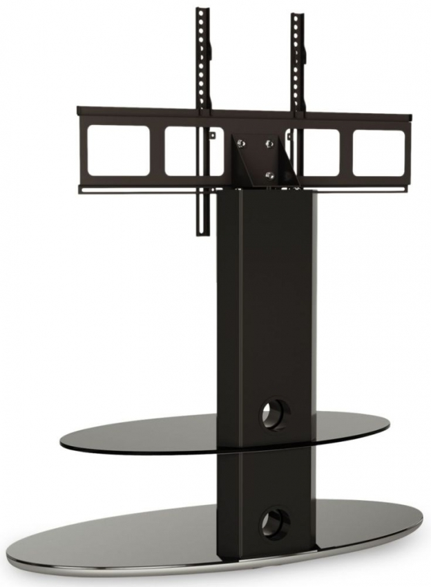 Wonderful Premium White Cantilever TV Stands With Regard To Buy Alphason Gradino Black Titanium Cantilever Tv Stand Grdb (View 50 of 50)