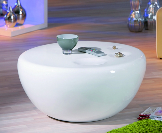 Wonderful Series Of Oval Gloss Coffee Tables Pertaining To White Gloss Round Coffee Table Coffee Addicts (Image 40 of 40)