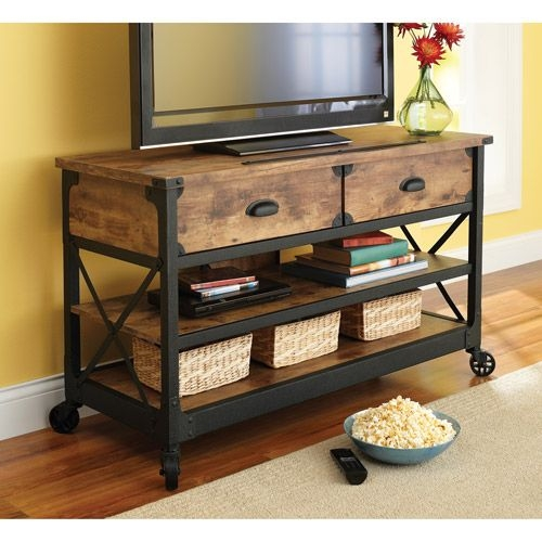 Wonderful Series Of Reclaimed Wood And Metal TV Stands Throughout 25 Best Rustic Tv Stands Ideas On Pinterest Tv Stand Decor (Image 47 of 50)