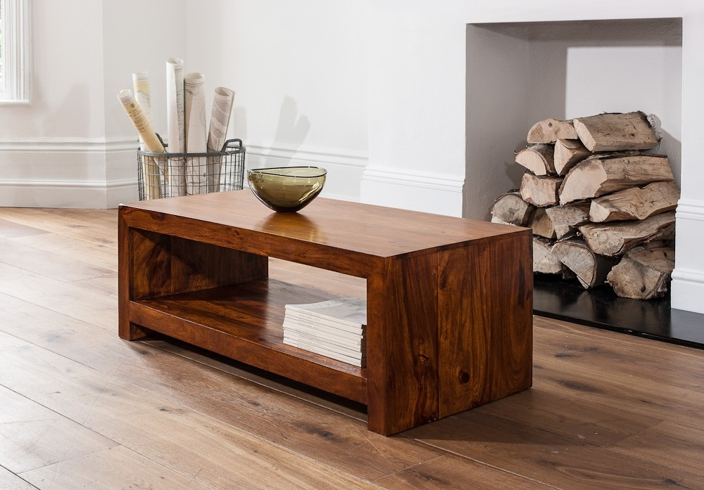 Wonderful Series Of Sheesham Coffee Tables Regarding Living Room Solid Wood Coffee Tables Casa Bella Furniture Uk (View 25 of 50)