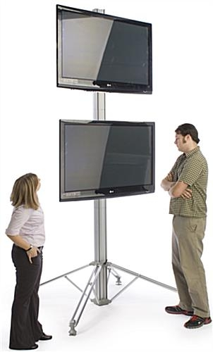Wonderful Series Of Single TV Stands Pertaining To Large Led Tv Stand Travel Case Included (View 16 of 50)