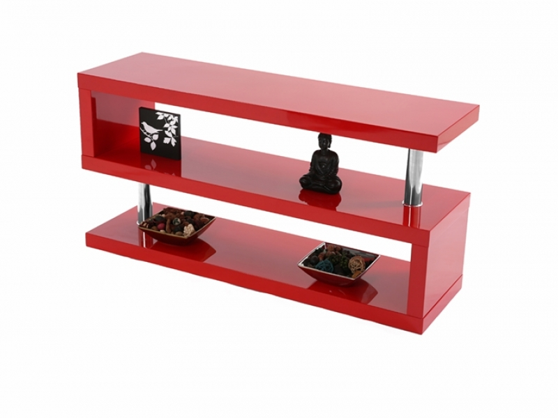 Wonderful Top Black And Red TV Stands For Miami High Gloss Modern Grey Tv Stand (View 2 of 50)
