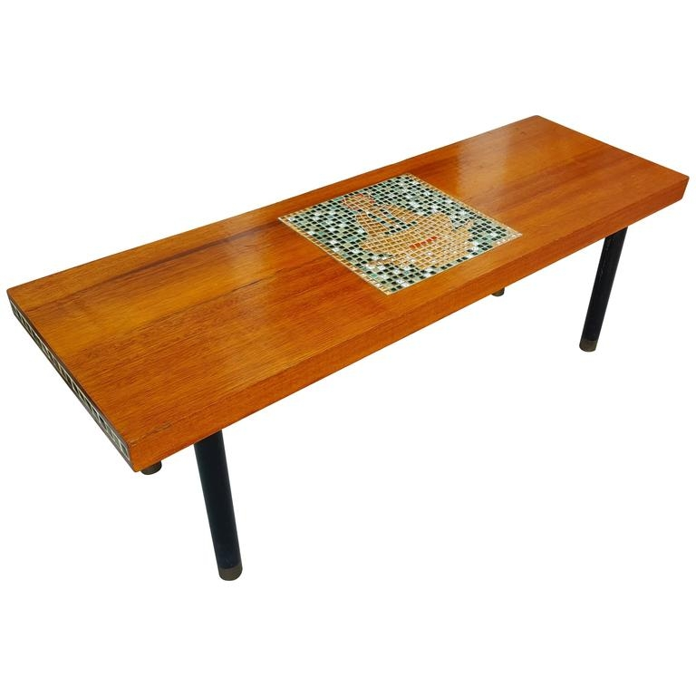 Wonderful Top Buddha Coffee Tables Pertaining To Exotic Wood And Mosaic Tile Buddha Coffee Table For Sale At 1stdibs (View 9 of 50)