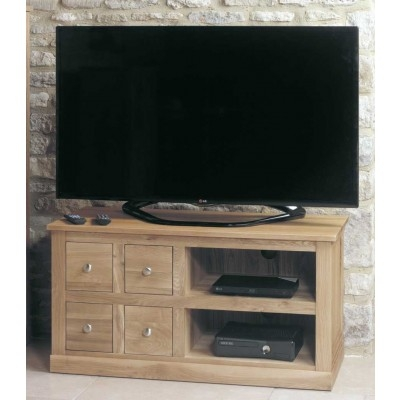 Wonderful Top Chunky TV Cabinets Intended For Oak Tv Stand Solid Oak Tv Unit Cabinet Furniture Plus (Image 46 of 50)