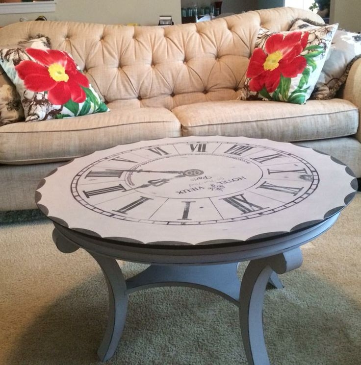 Wonderful Top Clock Coffee Tables Round Shaped For 89 Best Furniture Tables Round Images On Pinterest (Image 49 of 50)