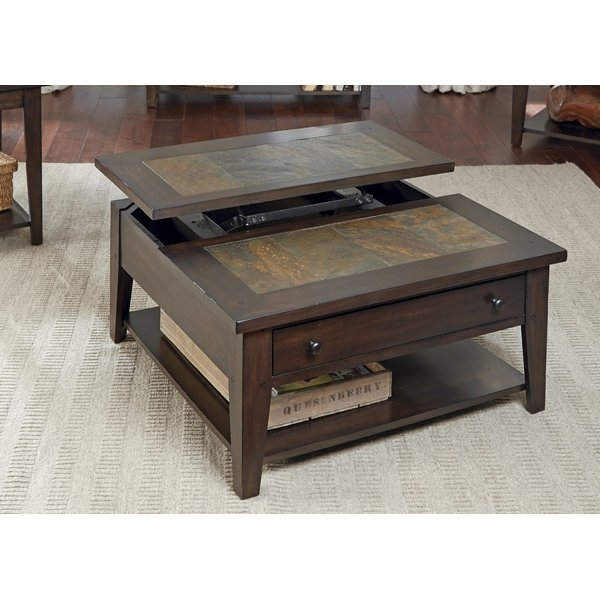 Wonderful Top Coffee Tables Extendable Top Intended For Loon Peak Leadville North Coffee Table With Lift Top Reviews (Image 49 of 50)