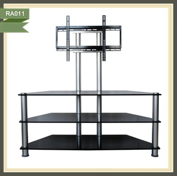 Wonderful Top L Shaped TV Stands With Cheap L Shaped Simple Metal Legs Mirrored Plasma Tv Stand Buy (Image 49 of 50)