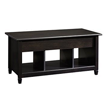 Wonderful Top Lift Top Coffee Tables For Amazon Sauder Edge Water Lift Top Coffee Table Estate Black (View 41 of 50)