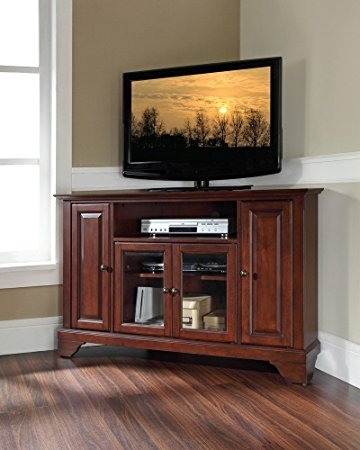 Wonderful Top Mahogany TV Stands Furniture With Amazon Crosley Furniture Lafayette 48 Inch Corner Tv Stand (Image 46 of 50)
