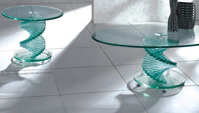 50 Collection Of Swirl Glass Coffee Tables Coffee Table