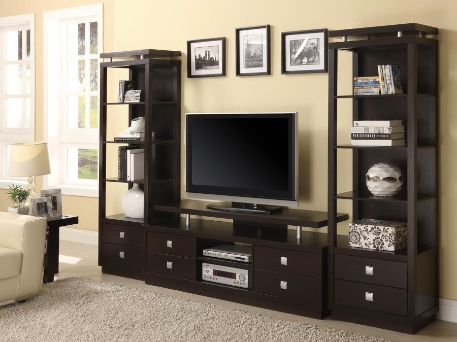 Wonderful Top TV Stand Wall Units Within Living Room Tv Consoles Tv Console 700696 Tv Stand (Image 49 of 50)