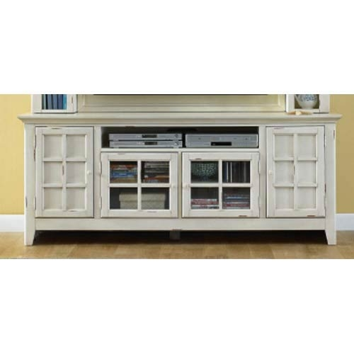 Wonderful Top TV Stands White Pertaining To New Generation Entertainment Tv Stand Vintage White Liberty (View 30 of 50)